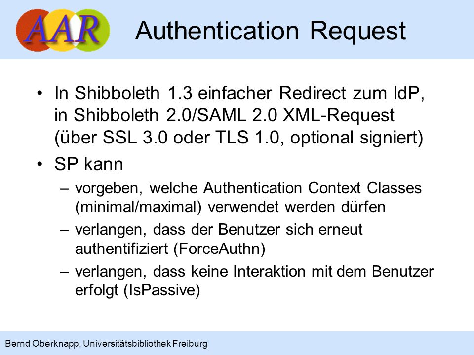 Authentication Request