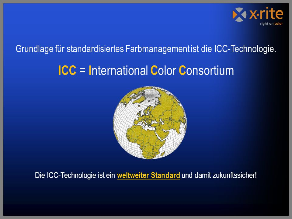 ICC = International Color Consortium
