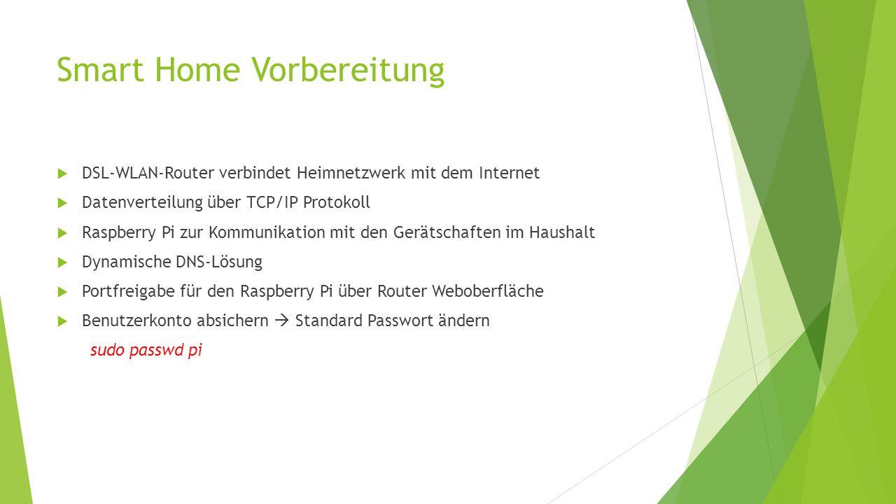 Hausautomation Mit Raspberry Pi Ppt Herunterladen Wiringpi License 3 Smart Home Vorbereitung