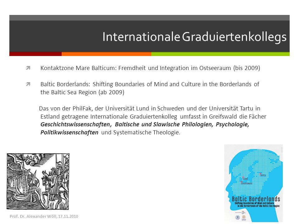 Internationale Graduiertenkollegs