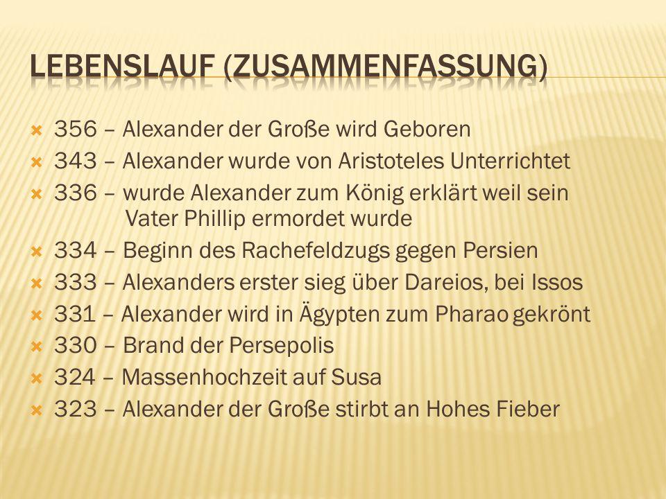 19 lebenslauf zusammenfassung - Alexander Der Groe Lebenslauf
