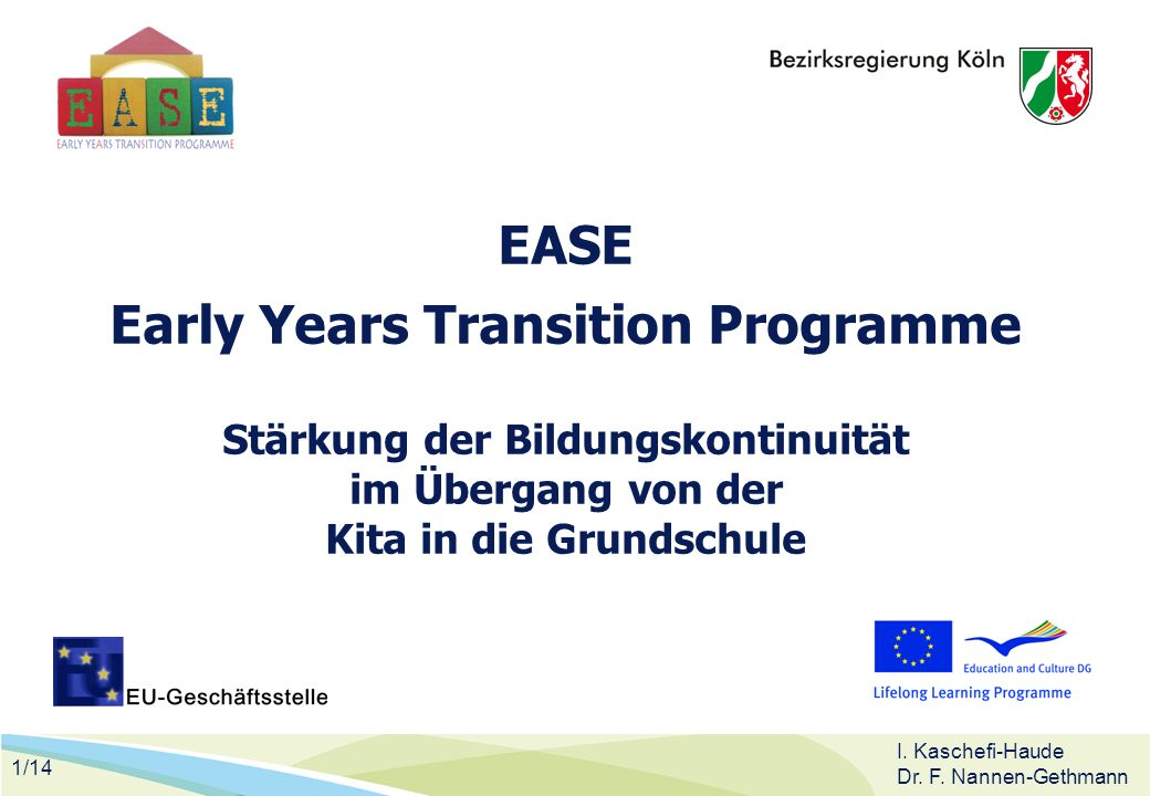 EASE Early Years Transition Programme