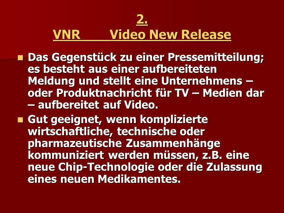 2. VNR Video New Release