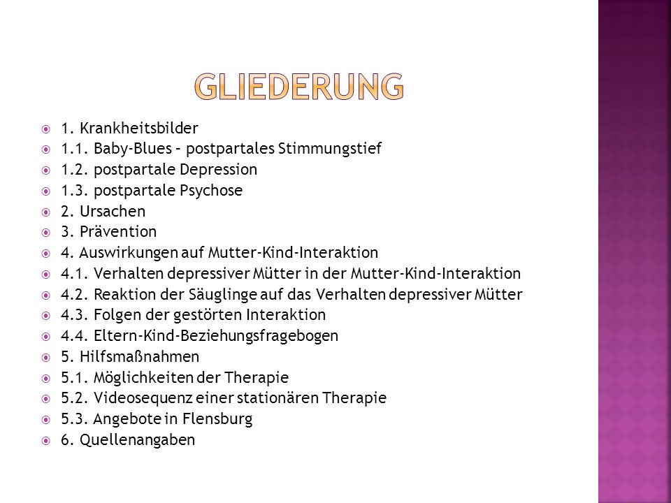 stationäre therapie depression mit kind