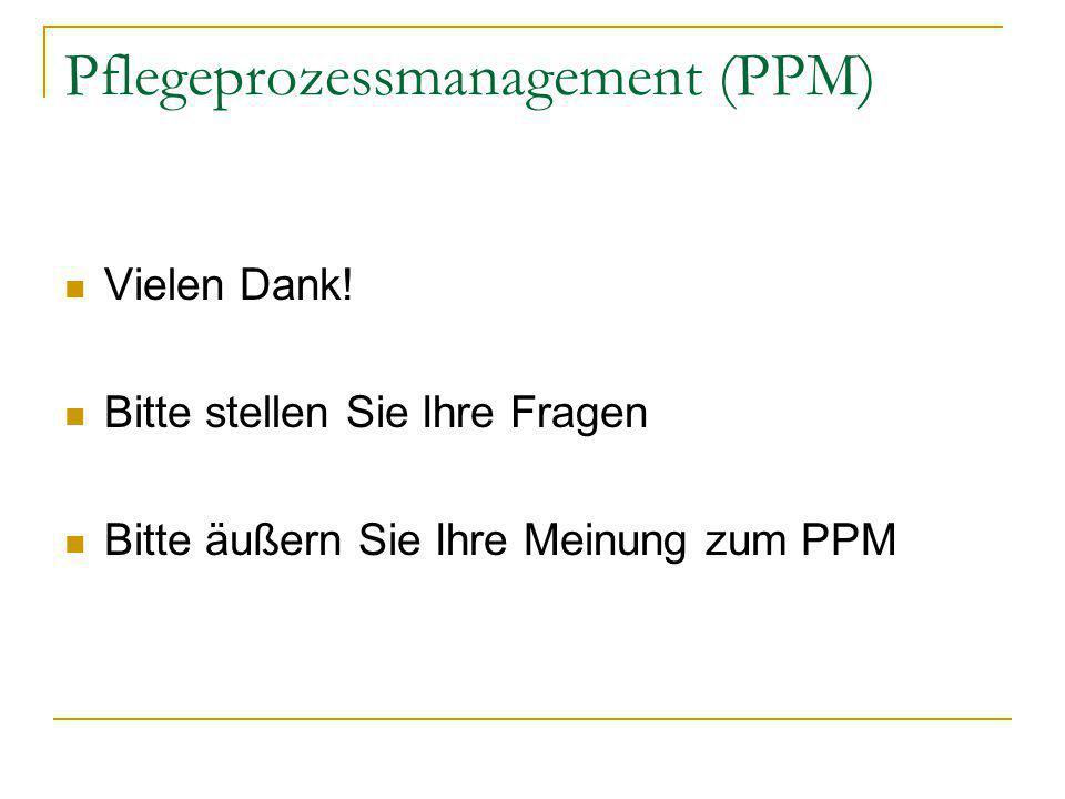 Pflegeprozessmanagement (PPM)