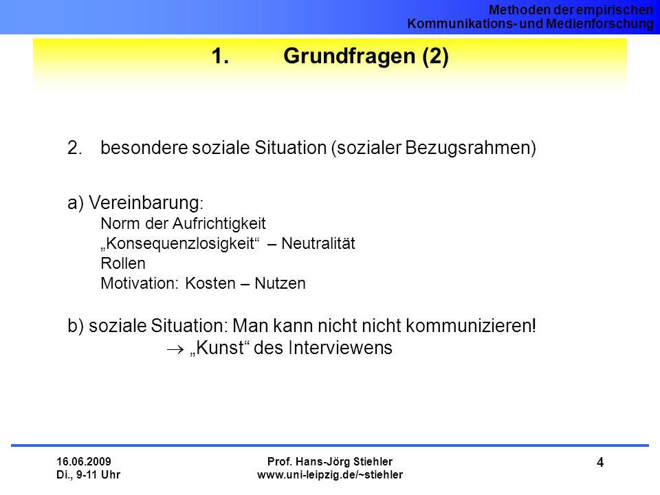 8. Sitzung Methoden II: Befragung - ppt herunterladen