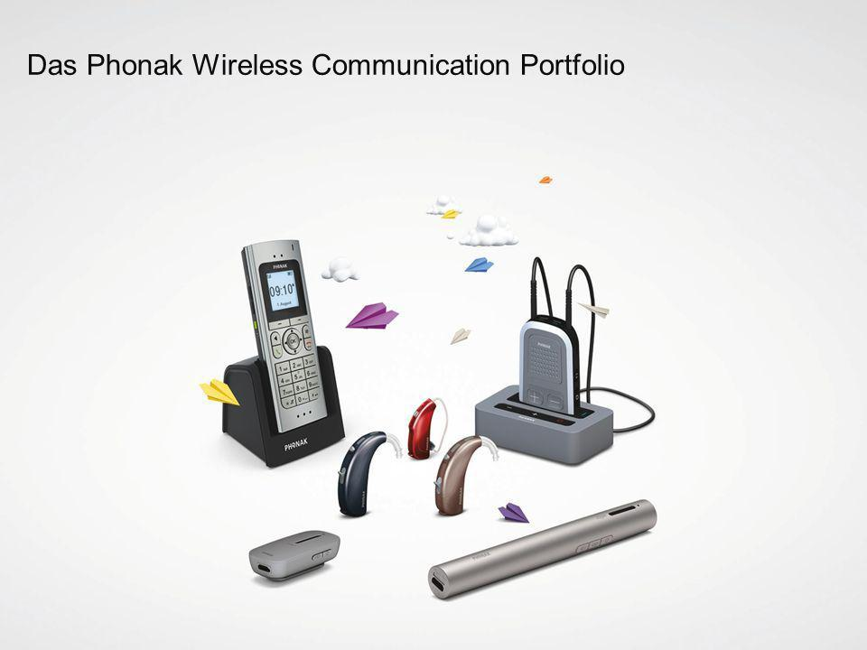 Das Phonak Wireless Communication Portfolio