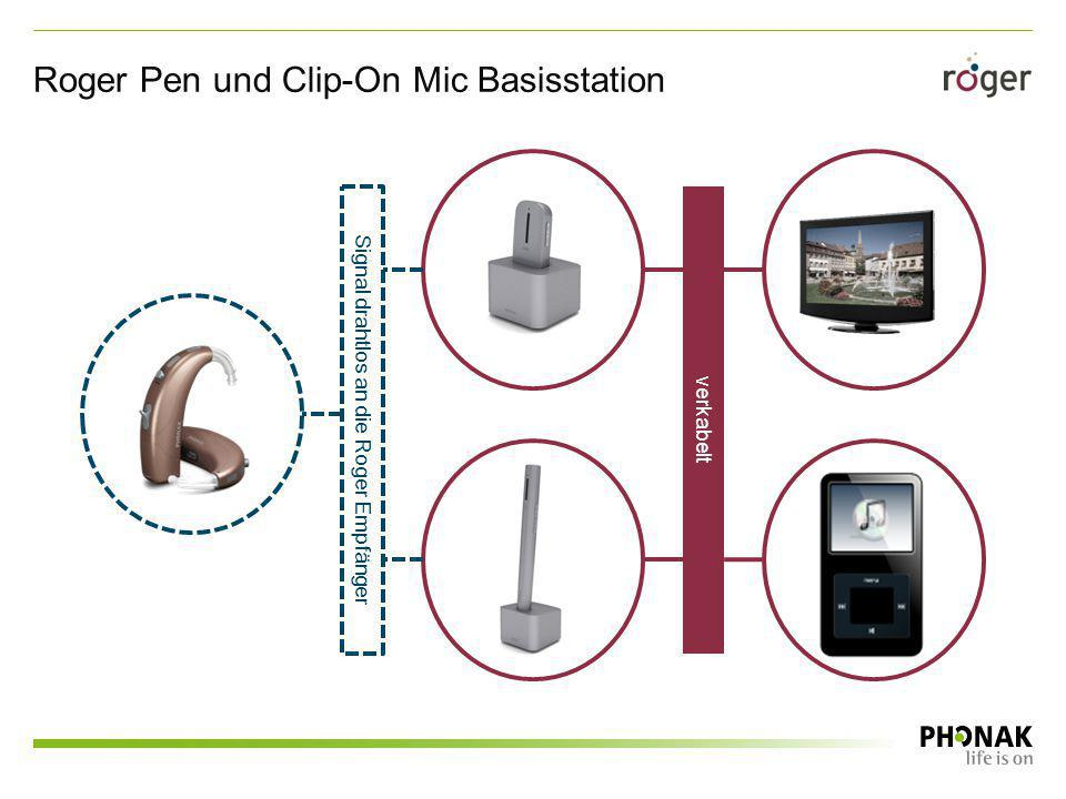 Roger Pen und Clip-On Mic Basisstation