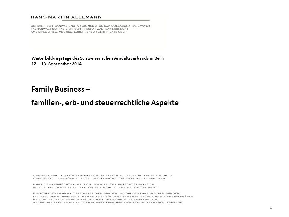 Family Business – Family Business