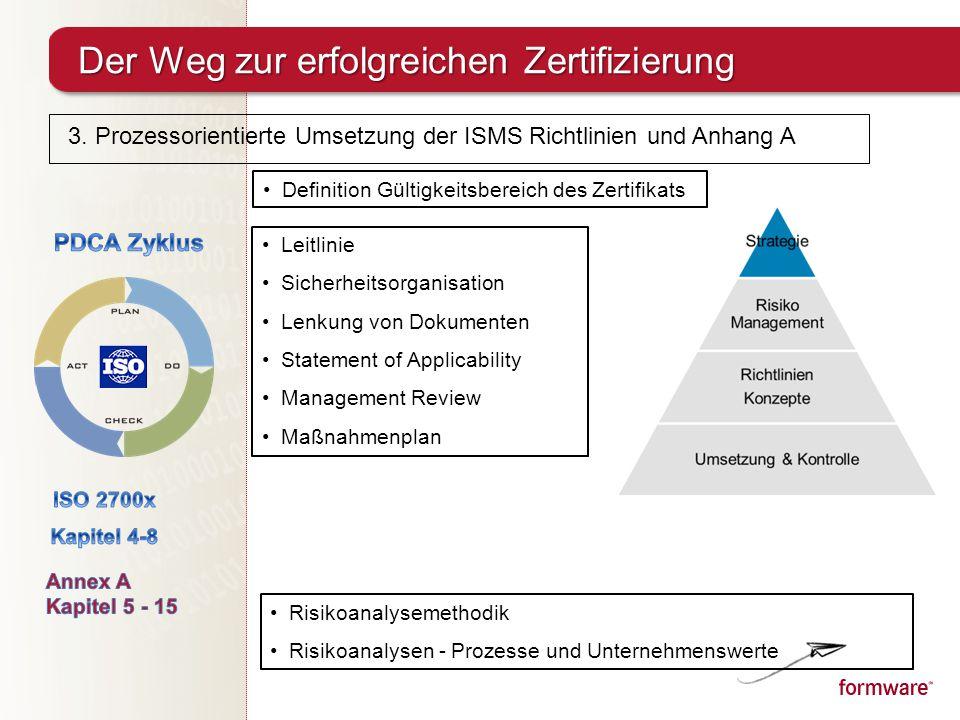 Best Practices – Einführung von ISO in mittelständischen Unternehmen ...
