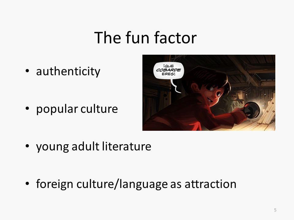 The fun factor authenticity popular culture young adult literature