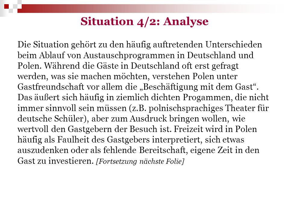 Situation 4/2: Analyse