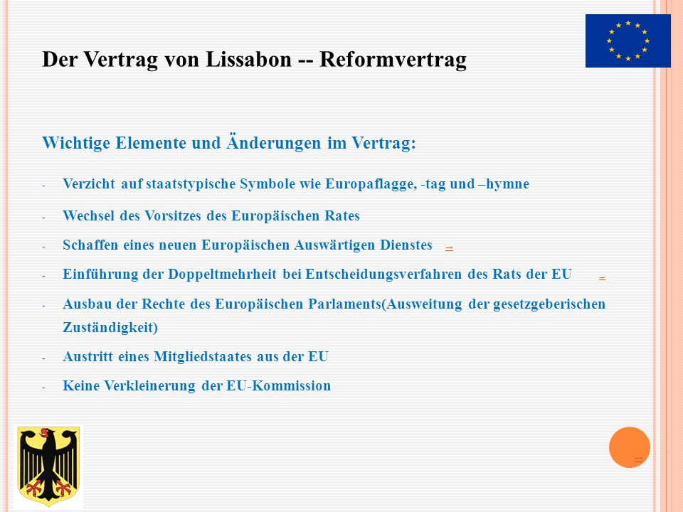 IV. DIE EUROPÄISCHE UNION - ppt video online herunterladen