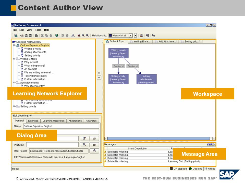 Learning Network Explorer