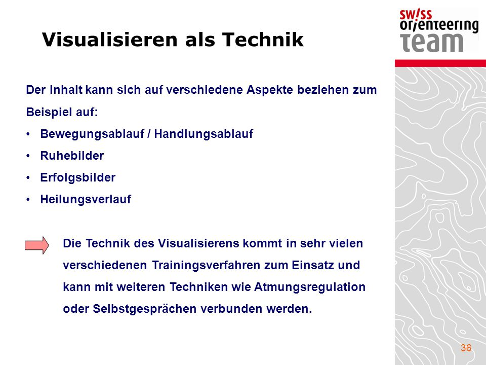 Visualisieren als Technik