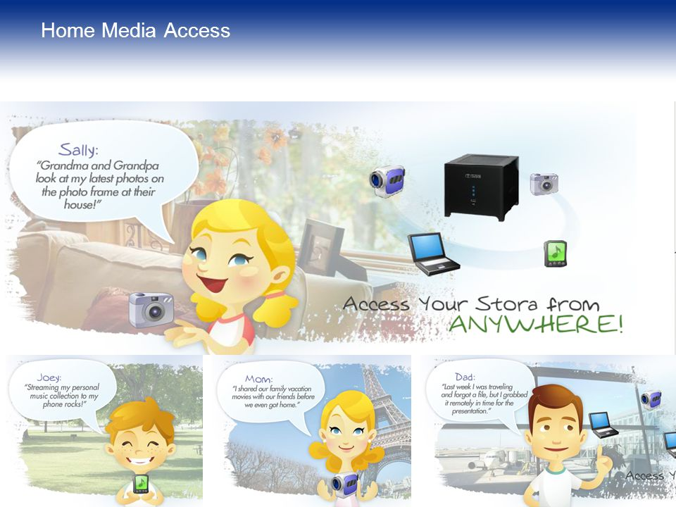 Home Media Access