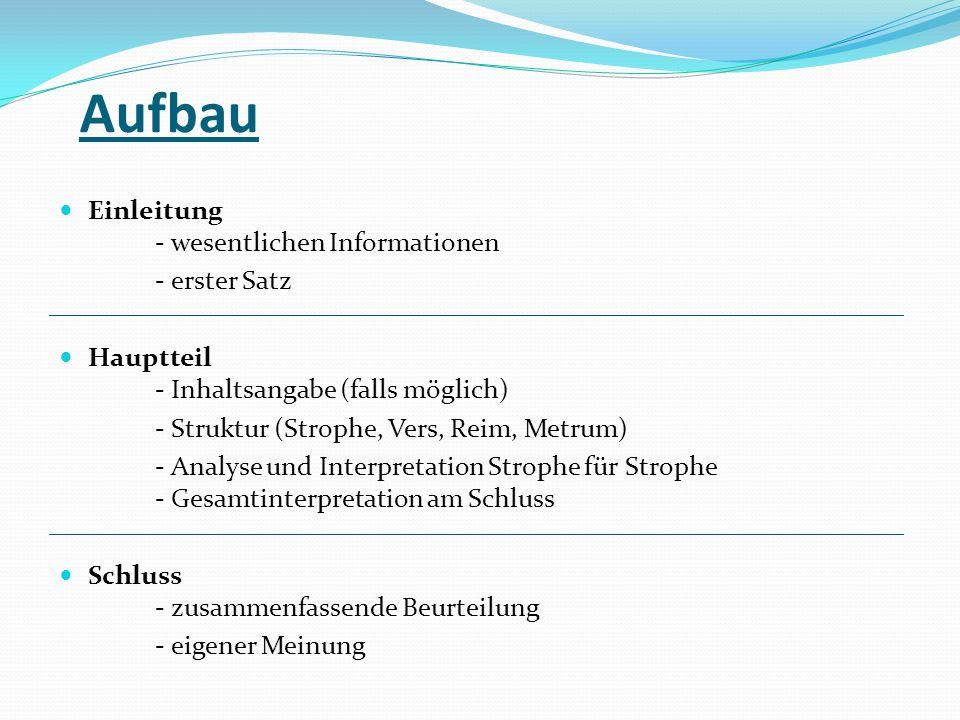 Interpretation Schluss Beispiel Daniel Schuhmacher Musicde