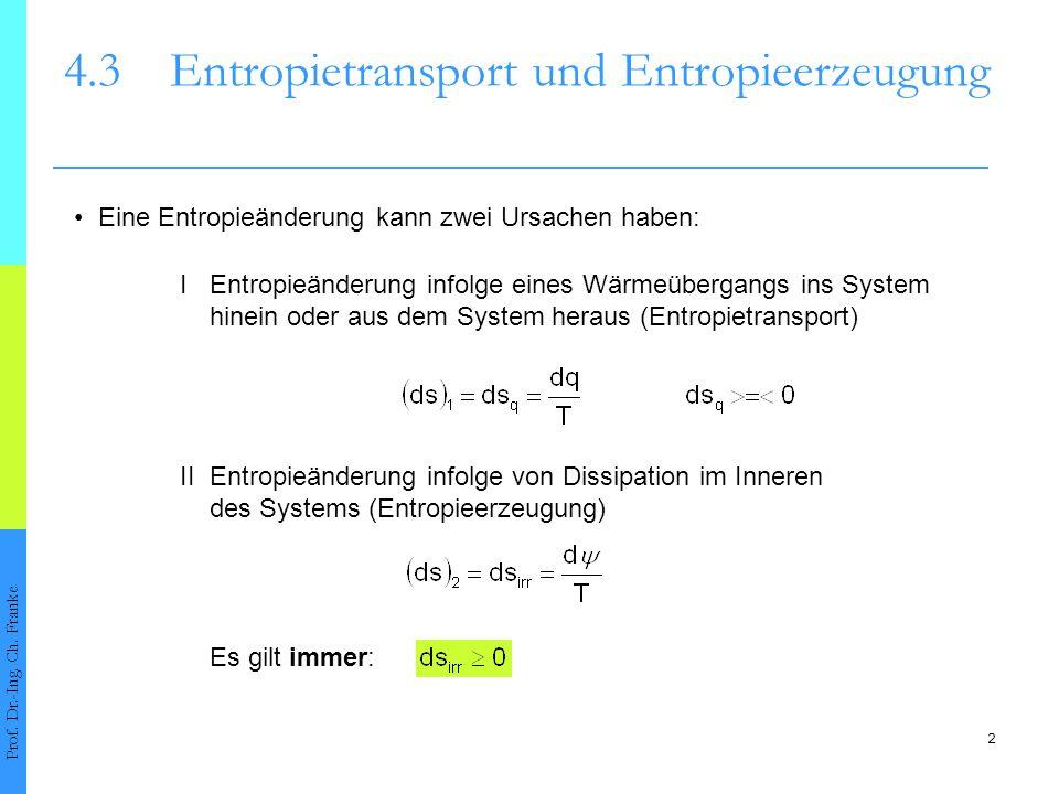 Hauptsatz Der Thermodynamik 2 43 Entropietransport Und Entropieerzeugung