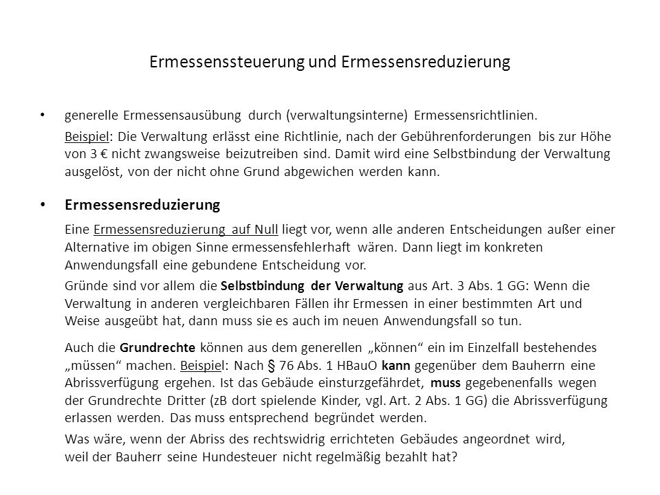 Allgemeines Verwaltungsrecht Ppt Herunterladen