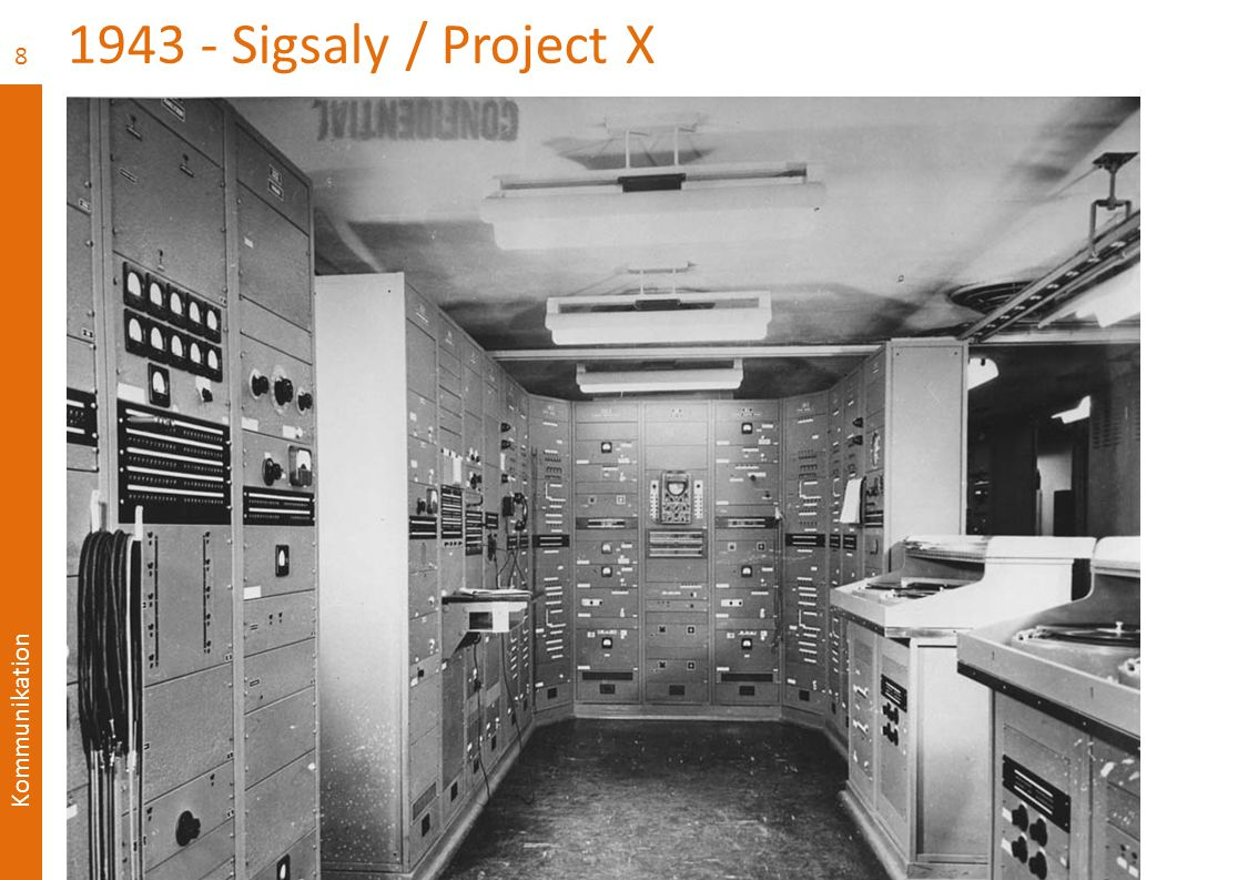 1943 - Sigsaly / Project X Test