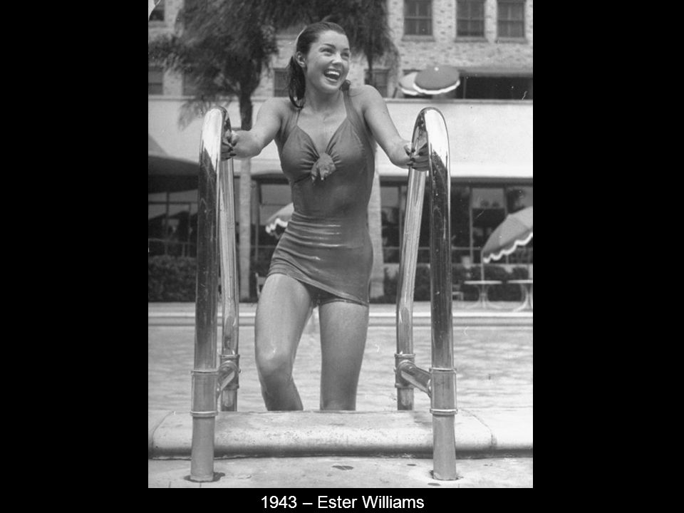 1943 – Ester Williams
