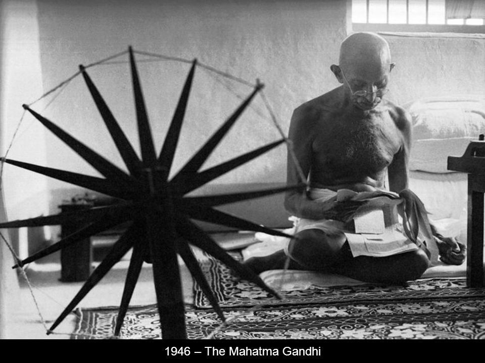 1946 – The Mahatma Gandhi