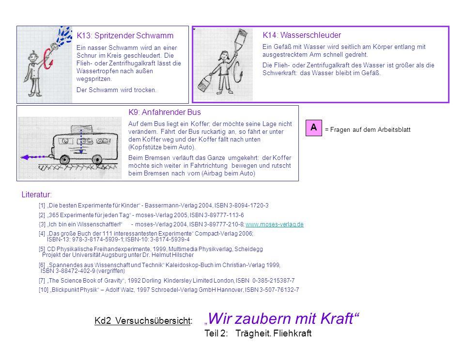 """Kd2 Versuchsübersicht: """"Wir zaubern mit Kraft"""" - ppt herunterladen"""