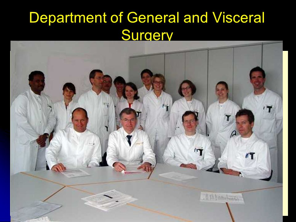 Department of General and Visceral Surgery