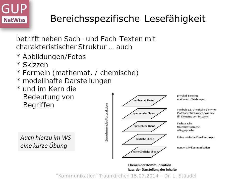 Kommunikation in den Naturwissenschaften fördern - ppt herunterladen