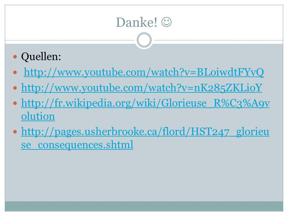 Danke!  Quellen: http://www.youtube.com/watch v=BLoiwdtFYvQ