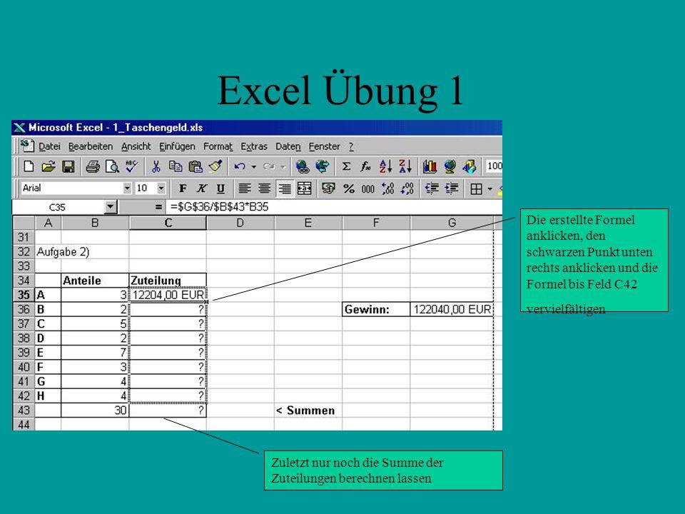 Ungewöhnlich Excel Formeln üben Arbeitsblatt Zeitgenössisch - Super ...