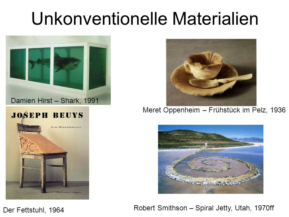 Unkonventionelle Materialien