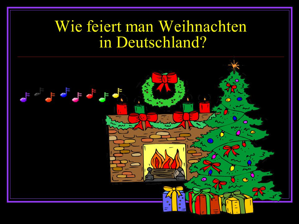 Weinachten in Deutschland. Weinachten in Deutschland. - ppt ...