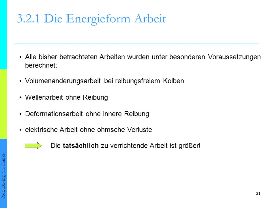 Kapitel 3: 1. Hauptsatz der Thermo-dynamik und der Energiebegriff ...