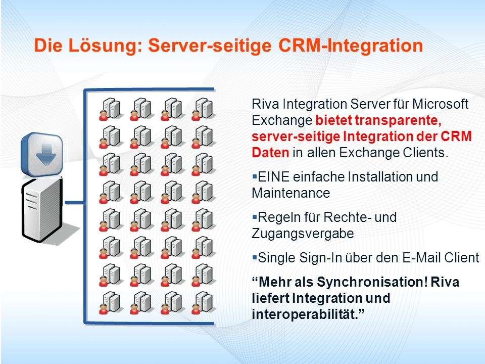 Die Lösung: Server-seitige CRM-Integration