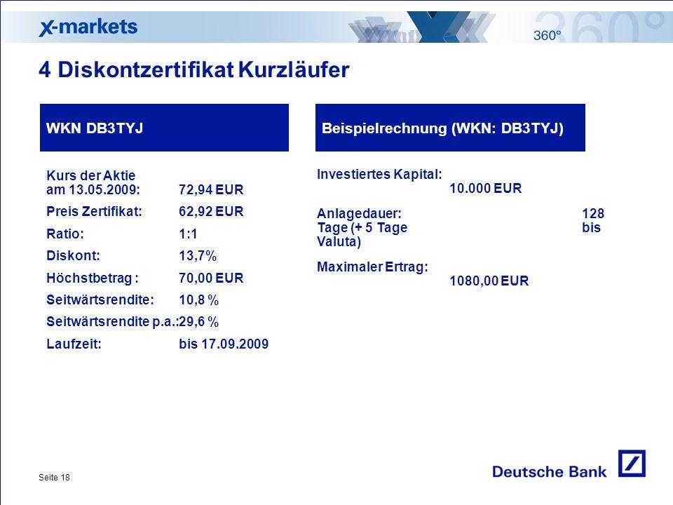 Tradingstrategien Mathias Schölzel X-markets Deutsche Bank AG. - ppt ...