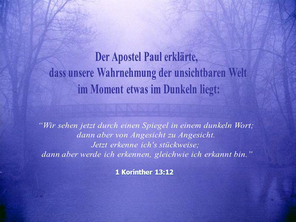 Paul, der im Dunkeln liegt