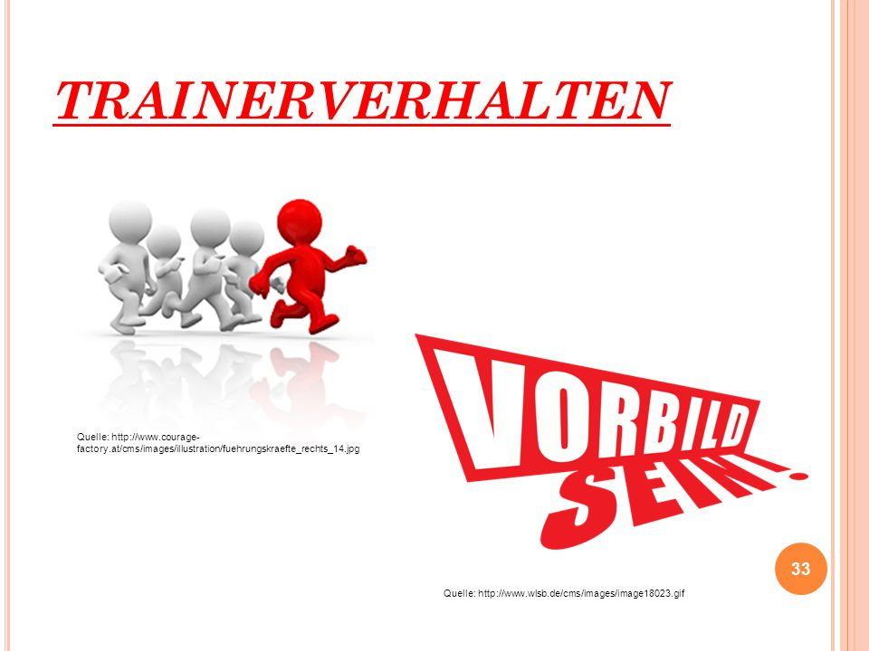TRAINERVERHALTEN Quelle: http://www.courage-factory.at/cms/images/illustration/fuehrungskraefte_rechts_14.jpg.