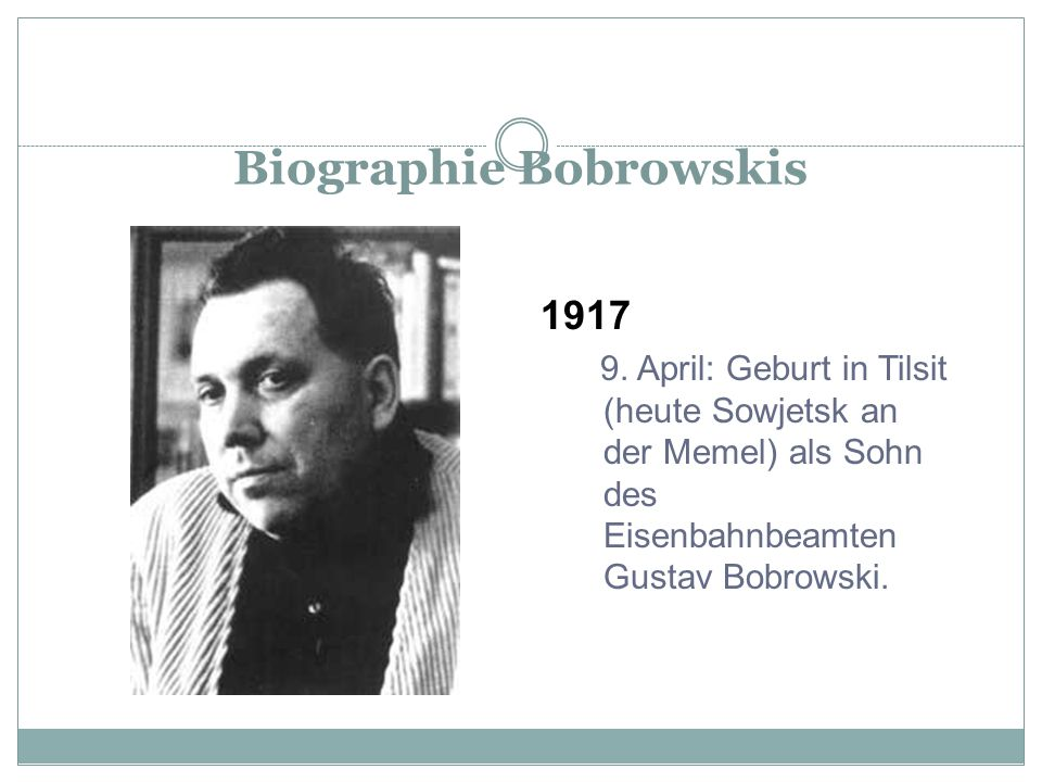 Biographie Bobrowskis