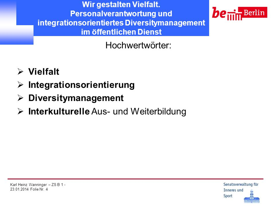 Integrationsorientierung Diversitymanagement