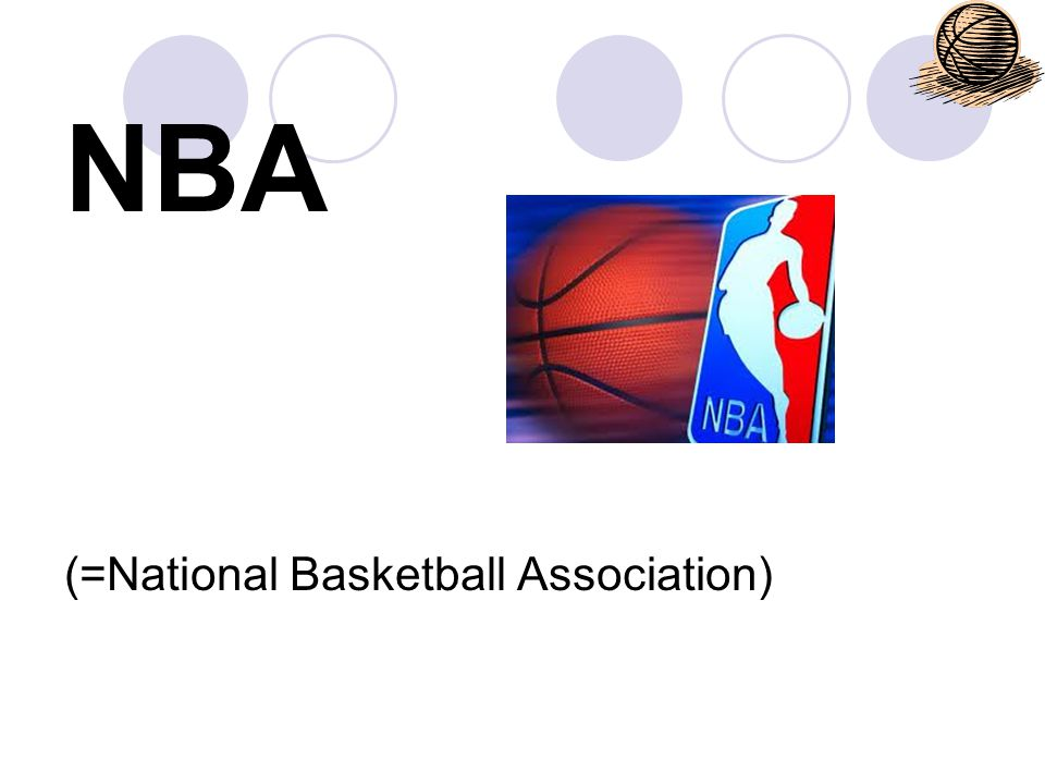 NBA (=National Basketball Association)
