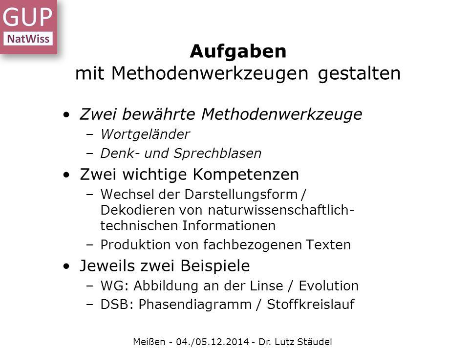Aufgaben im naturwissenschaftlichen Unterricht - ppt herunterladen