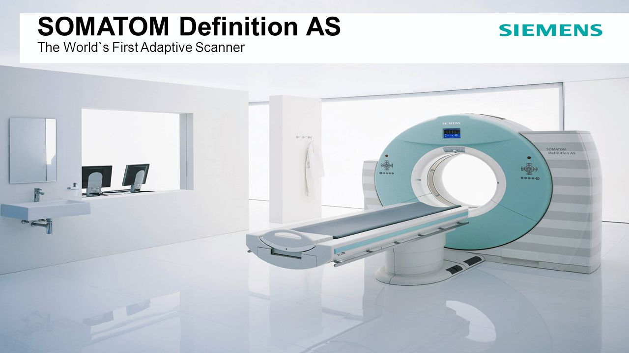 SOMATOM Definition AS The World`s First Adaptive Scanner