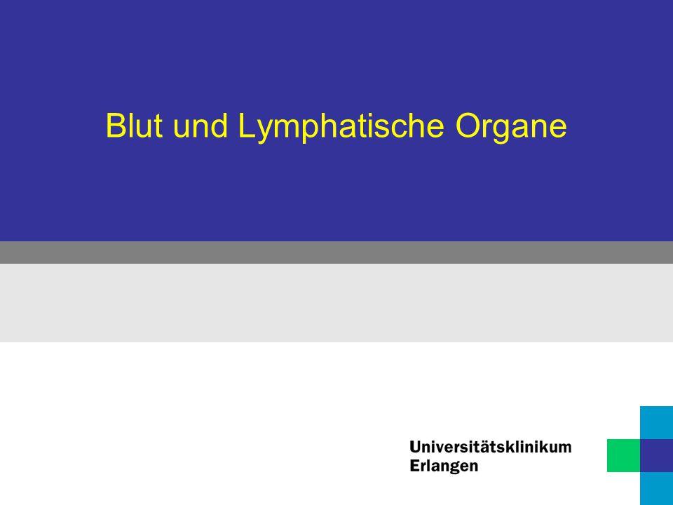 Blut und Lymphatische Organe - ppt herunterladen