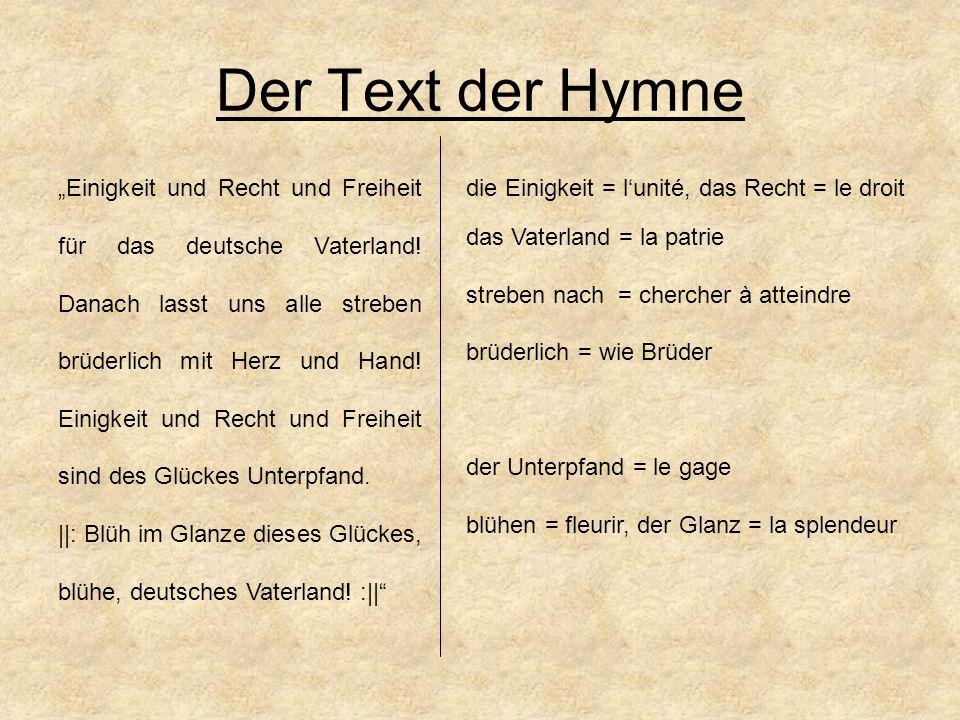 alte deutsche nationalhymne