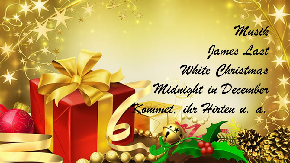 Musik James Last White Christmas Midnight in December Kommet, ihr Hirten u. a.