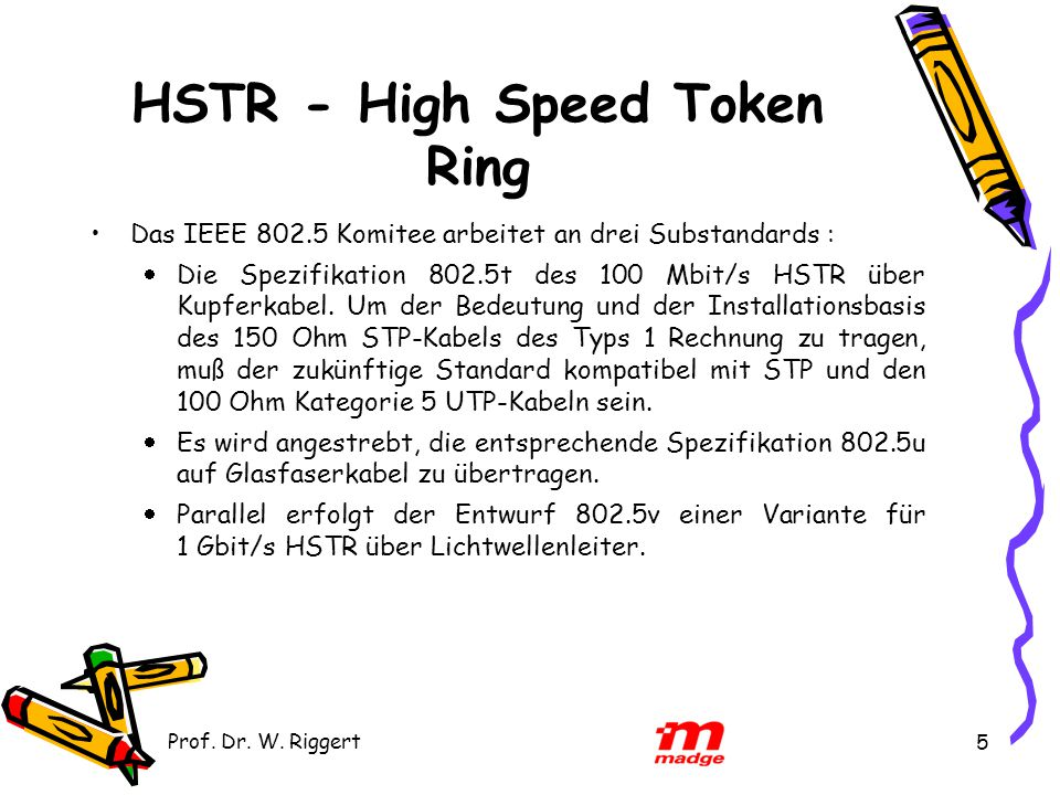 HSTR - High Speed Token Ring