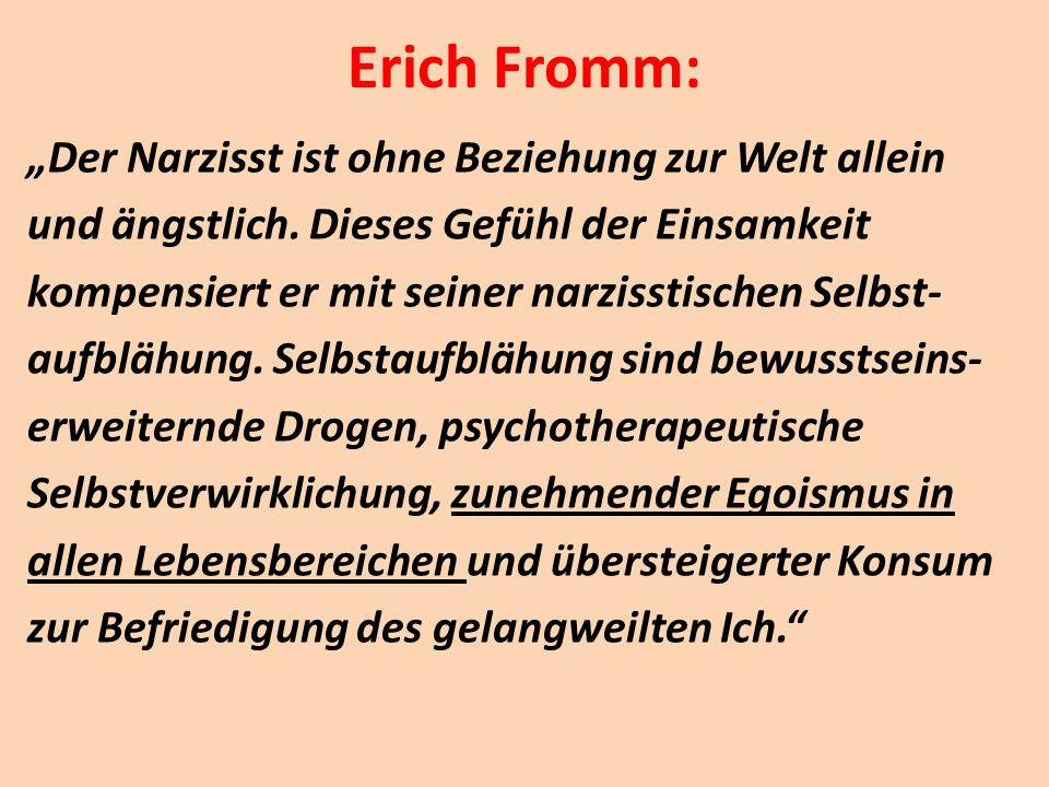 Erich Fromm: