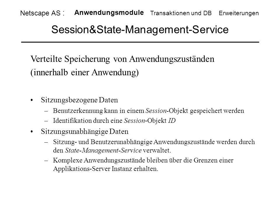 Session&State-Management-Service