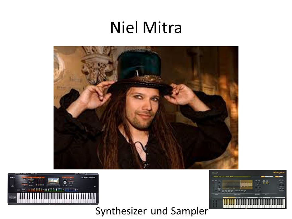 Niel Mitra Synthesizer und Sampler